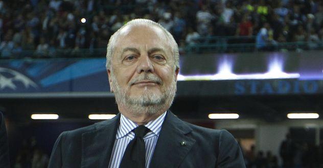 Napoli unico club con tifosi in aumento. De Laurentiis: